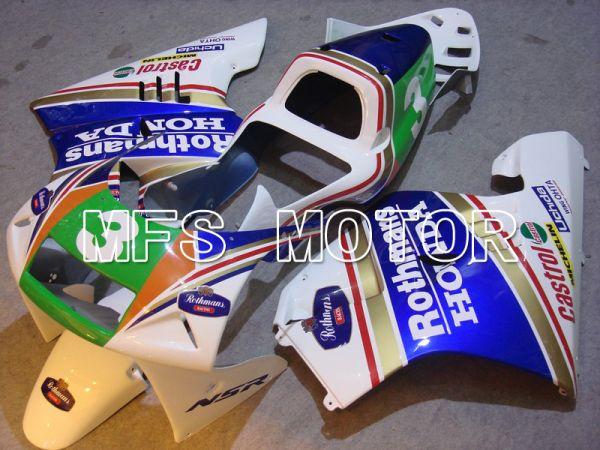 Honda NSR250 MC21 P3 1990-1993 Injection ABS Fairing - Rothmans - Blue White - MFS6251