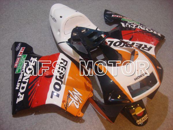 Honda NSR250 MC28 P4 1994-1996 Injection ABS Fairing - Repsol - White Black Orange - MFS6259