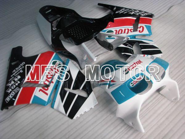 Honda RVF400R NC35 1994-1998 ABS Fairing - Castrol - Black White - MFS6266