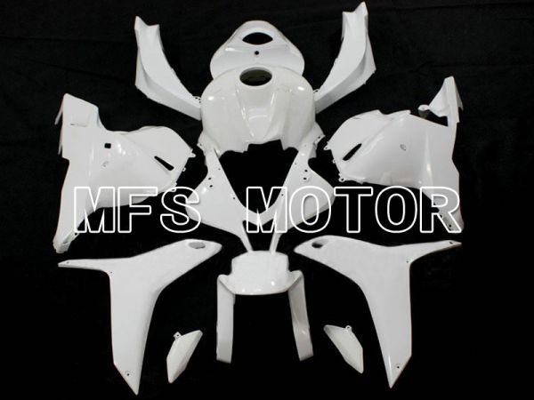 Honda CBR 600RR F5 2009-2012 Injection ABS Unpainted Fairing - Factory Style - White - MFS6270