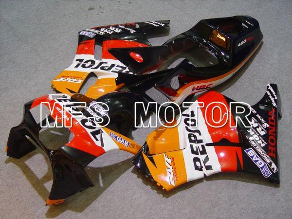 Honda RVF400R NC35 1994-1998 ABS Fairing - Repsol - Red Orange Black - MFS6281