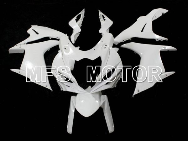 Suzuki GSXR600 GSXR750 2011-2013 K11 Injection ABS Unpainted Fairing - Factory Style - White - MFS6286