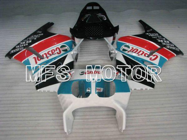Honda VFR400R NC30 1990-1993 ABS Fairing - Castrol - Blue White Black - MFS6291