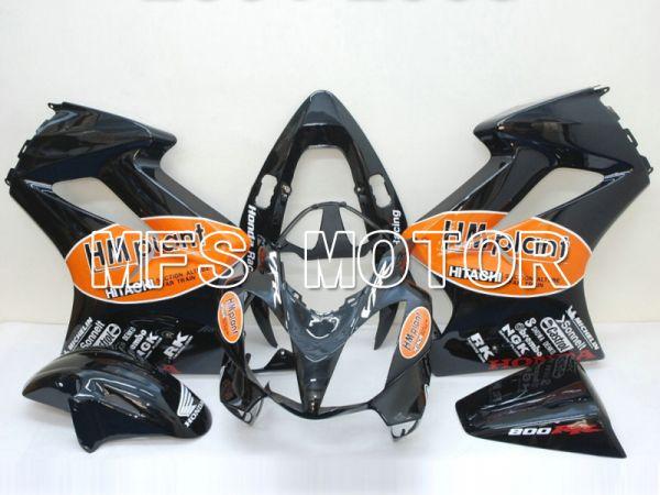 Honda VFR800 2002-2013 Injection ABS Fairing - HM Plant - Black - MFS6314