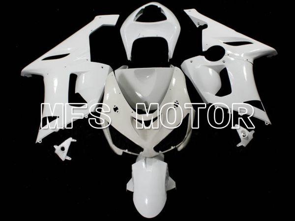 Kawasaki NINJA ZX10R 2006-2007 Injection ABS Unpainted Fairing - Factory Style - White - MFS6322