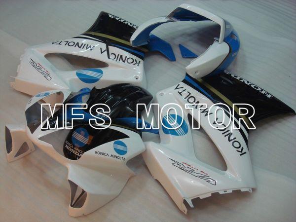 Honda VFR800 2002-2013 Injection ABS Fairing - Konica Minolta - Black White - MFS6323