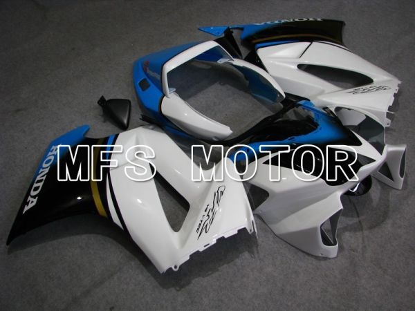Honda VFR800 2002-2013 Injection ABS Fairing - Factory Style - Black White - MFS6327