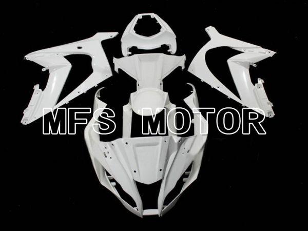 Kawasaki NINJA ZX10R 2011-2015 Injection ABS Unpainted Fairing - Factory Style - White - MFS6328