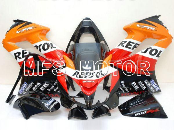 Honda VFR800 2002-2013 Injection ABS Fairing - Repsol - Red Orange Black - MFS6331