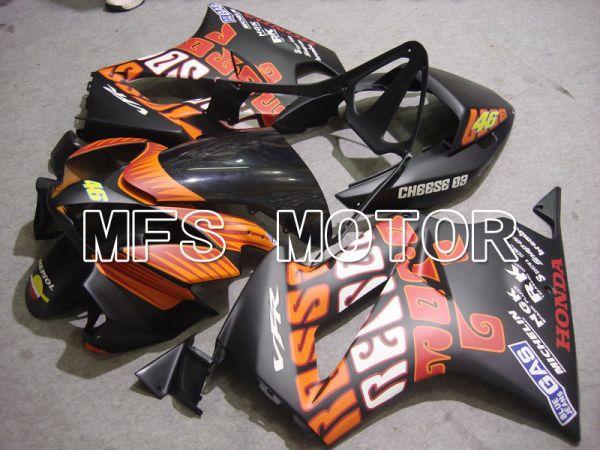 Honda VFR800 2002-2013 Injection ABS Fairing - Rossi - Orange Black - MFS6336