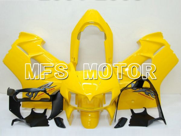 Honda VFR800 1998-2001 ABS Fairing - Factory Style - Yellow - MFS6340