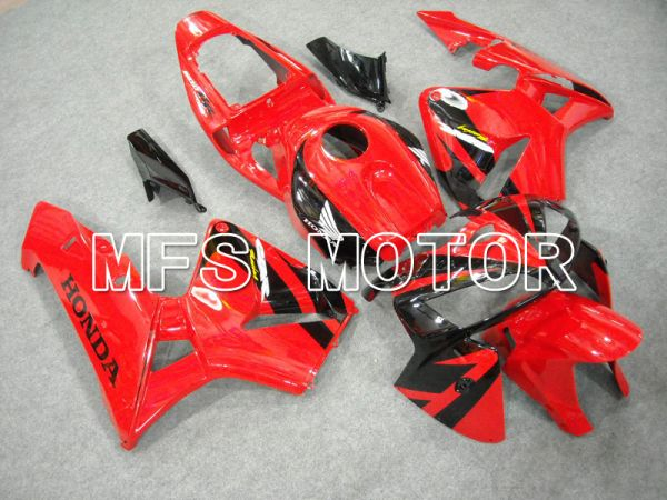 Honda CBR600RR 2005-2006 Injection ABS Fairing - Factory Style - Red Black - MFS6365