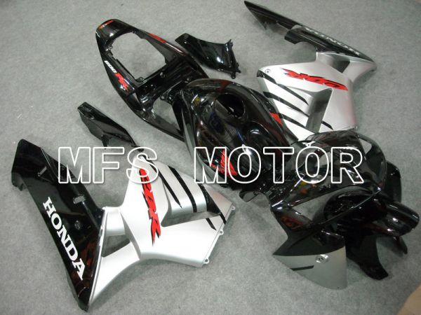 Honda CBR600RR 2005-2006 Injection ABS Fairing - Factory Style - Black Silver - MFS6373