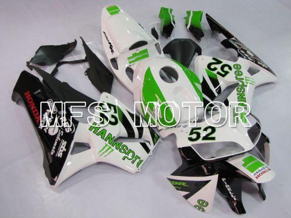 Honda CBR600RR 2005-2006 Injection ABS Fairing - HANN Spree - Black White Green - MFS6378