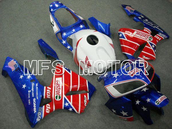 Honda CBR600RR 2005-2006 Injection ABS Fairing - Castrol - Blue Red - MFS6383