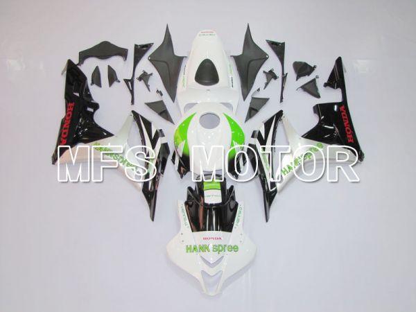 Honda CBR600RR 2007-2008 Injection ABS Fairing - Factory Style - Black White - MFS6393