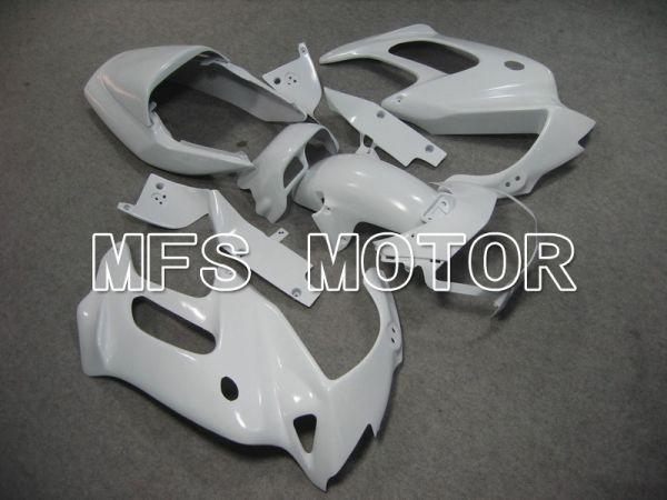 Honda VTR1000F 1997-1998 ABS Fairing - Factory Style - White - MFS6396