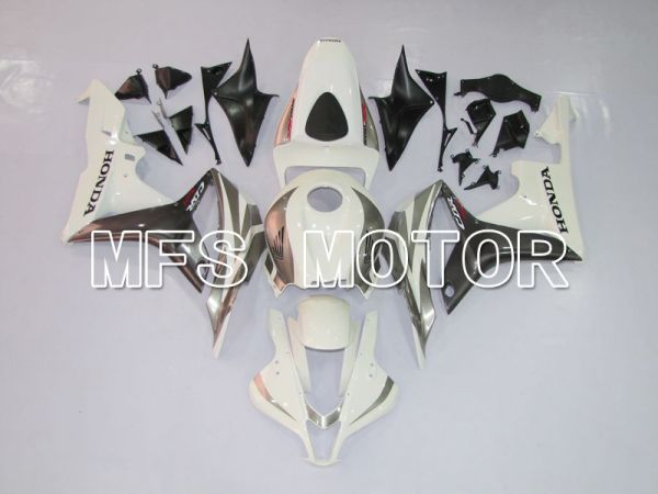 Honda CBR600RR 2007-2008 Injection ABS Fairing - Factory Style - Gray White - MFS6398