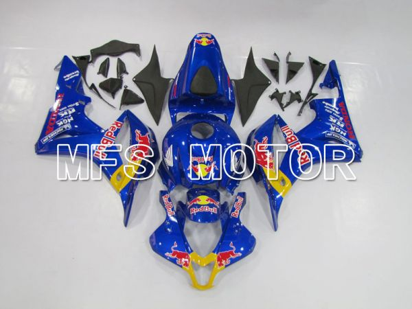 Honda CBR600RR 2007-2008 Injection ABS Fairing - Red Bull - Blue Yellow - MFS6404