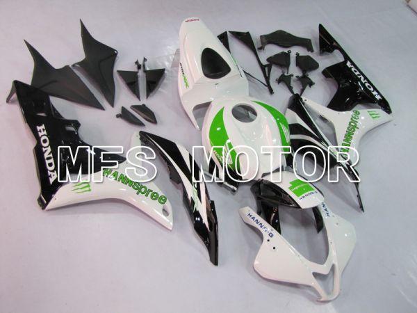 Honda CBR600RR 2007-2008 Injection ABS Fairing - HANN Spree - Black White - MFS6413