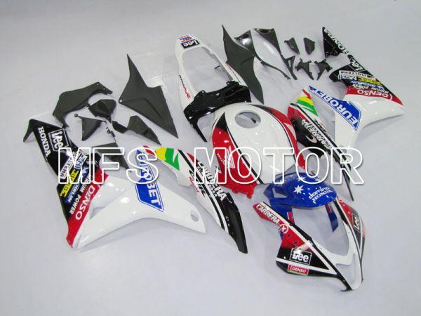 Honda CBR600RR 2007-2008 Injection ABS Fairing - Eurobet - Black White Red - MFS6414