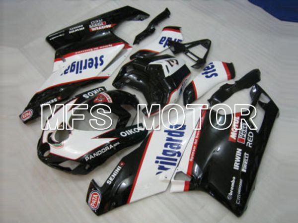Ducati 749 / 999 2003-2004 Injection ABS Fairing - Sterilgarda - Black White - MFS6430