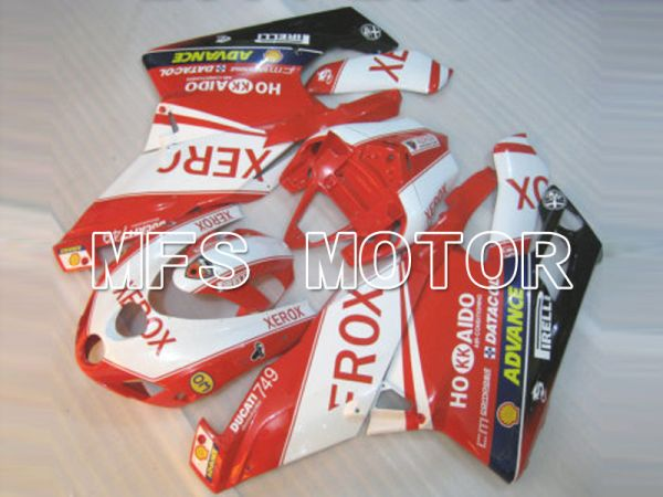 Ducati 749 / 999 2003-2004 Injection ABS Fairing - Xerox - Red White - MFS6434