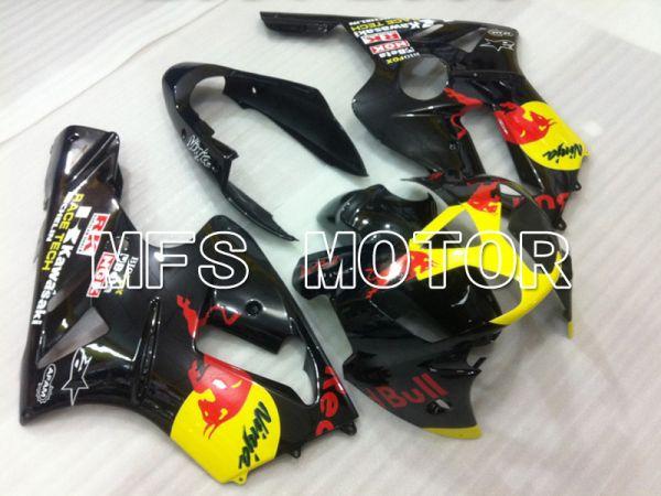 Kawasaki NINJA ZX12R 2002-2005 Injection ABS Fairing - Red Bull - Black - MFS6439