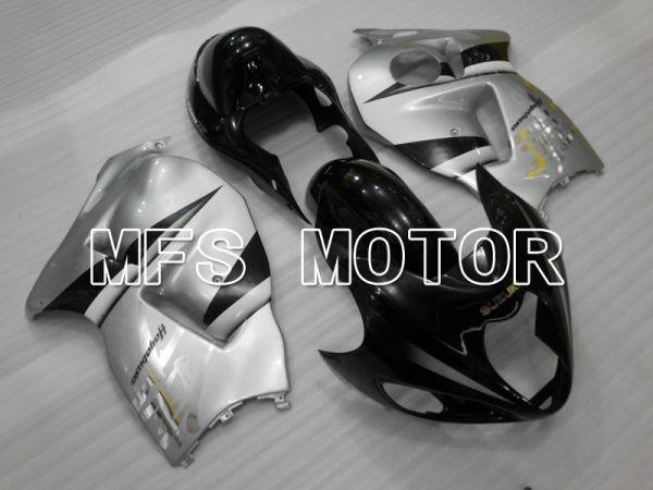Suzuki GSXR1300 Hayabusa 1999-2007 Injection ABS Fairing - Factory Style - Black Silver - MFS6443