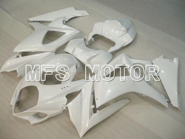 Suzuki GSXR1000 2007-2008 Injection ABS Fairing - Factory Style - White - MFS6452