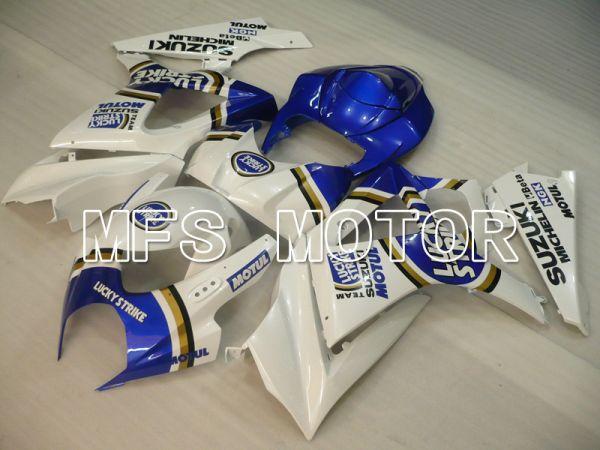 Suzuki GSXR1000 2007-2008 Injection ABS Fairing - Lucky Strike - Blue White - MFS6453