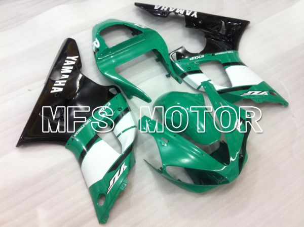 Yamaha YZF-R1 2000-2001 Injection ABS Fairing - Factory Style - Black Green White - MFS6456