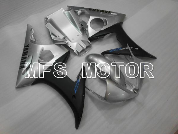 Yamaha YZF-R6 2003-2004 Injection ABS Fairing - Factory Style - Silver Matte - MFS6462