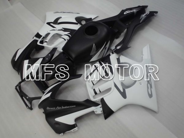 Honda CBR600 F3 1997-1998 Injection ABS Fairing - Factory Style - Black White Matte - MFS6464
