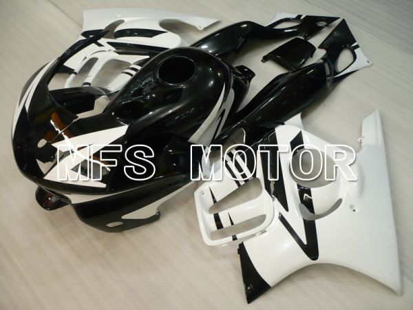 Honda CBR600 F3 1997-1998 Injection ABS Fairing - Factory Style - Black White - MFS6466