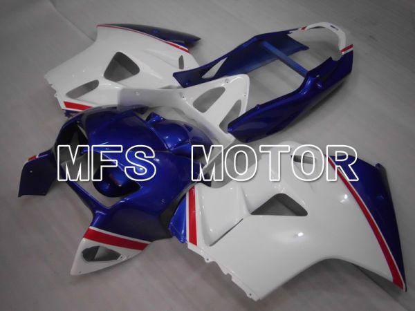 Honda VFR800 1998-2001 ABS Fairing - Factory Style - Blue White - MFS6470