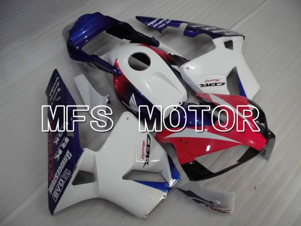 Honda CBR600RR 2003-2004 ABS Injection Fairing - Others - Red White Blue - MFS6476