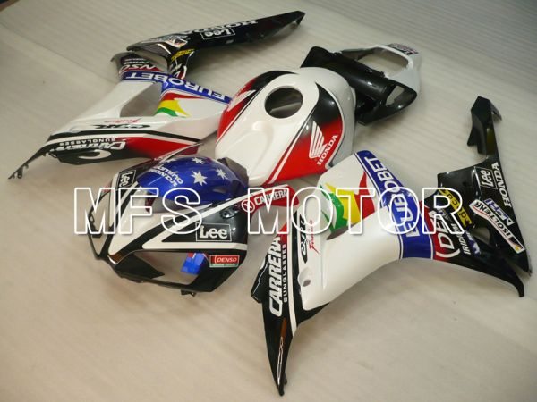 Honda CBR1000RR 2006-2007 Injection ABS Fairing - Eurobet - Black White - MFS6479