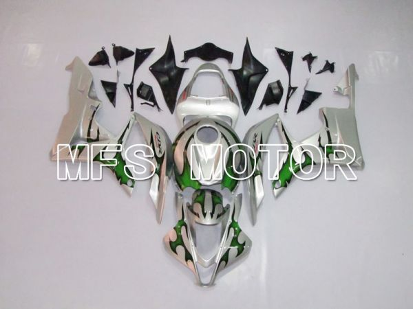 Honda CBR600RR 2007-2008 Injection ABS Fairing - Factory Style - Green Silver - MFS6417