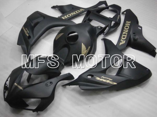 Honda CBR1000RR 2006-2007 Injection ABS Fairing - Factory Style - Black Matte - MFS6480
