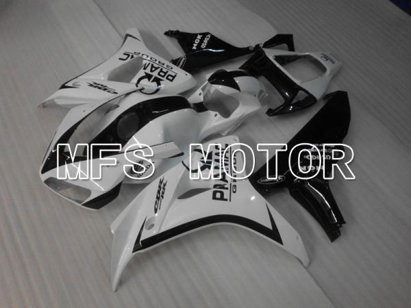Honda CBR1000RR 2006-2007 Injection ABS Fairing - PRAMAC - Black White - MFS6482