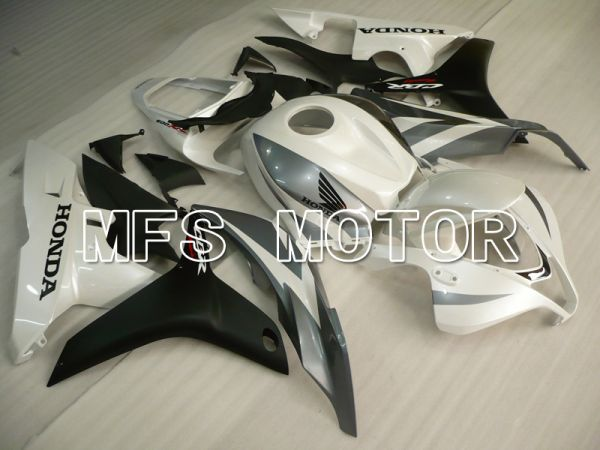 Honda CBR600RR 2007-2008 Injection ABS Fairing - Factory Style - Black Matte White - MFS6487
