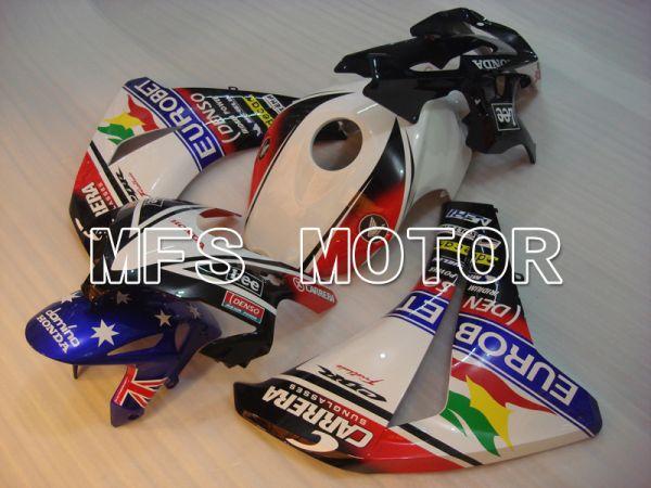 Honda CBR1000RR 2008-2011 Injection ABS Fairing - Eurobet - Black Blue White - MFS6489
