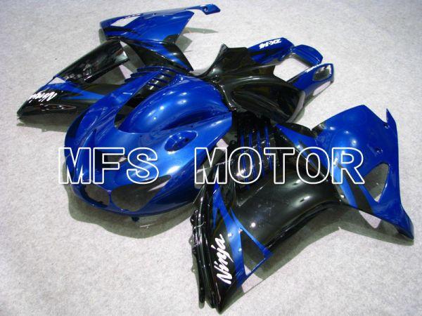 Kawasaki NINJA ZX14R 2006-2011 Injection ABS Fairing - Factory Style - Black Blue - MFS6102