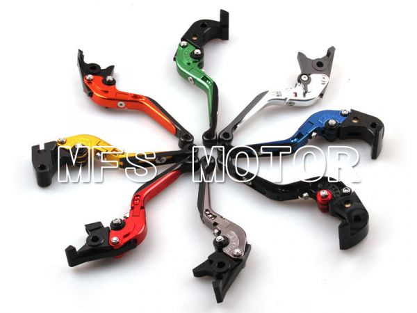 Clutch Brake Levers For Kawasaki NINJA ZX14R 06-12 GTR1400 07-12