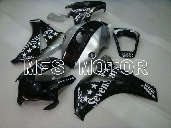 Honda CBR1000RR 2008-2011 Injection ABS Fairing - SevenStars - Black Silver - MFS2969