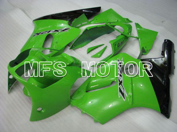 Kawasaki NINJA ZX12R 2000-2001 Injection ABS Fairing - Factory Style - Black Green - MFS4102