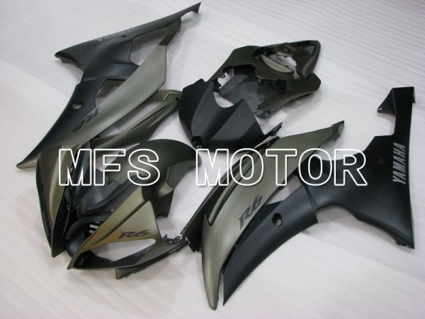 Yamaha YZF-R6 2008-2016 Injection ABS Fairing - Factory Style - Matte Gray - MFS3867