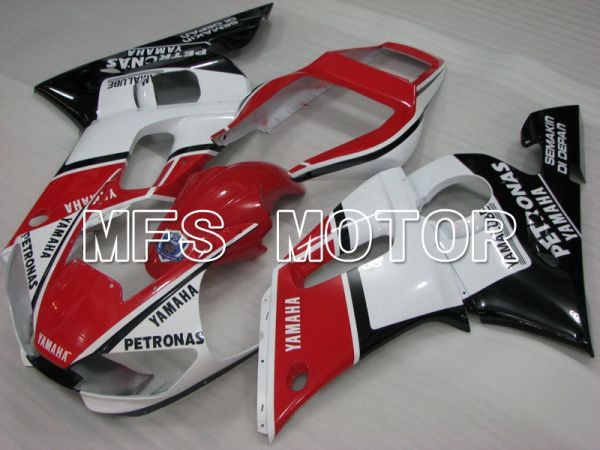 Yamaha YZF-R6 1998-2002 Injection ABS Fairing - PETRONAS - Black Red White - MFS3526