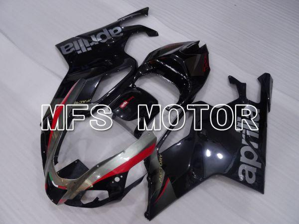 Aprilia RSV 1000 R 2004-2009 ABS Fairing - Factory Style - Black - MFS4306